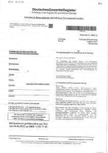 """Vorsicht: Post von """"DeutschesGewerbeRegister"""" - Ferner: Rechtsanwalt für Strafrecht, Verkehrsrecht, IT-Recht Aachen"""