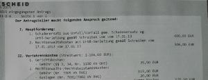 Gerichtlicher Mahnbescheid Von Waldorf Frommer Rechtsanwalt Ferner