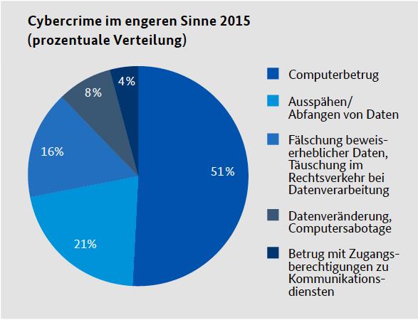 Cybercrime Delikte 2015 (Quelle: BKA)