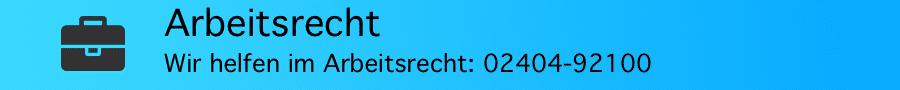 Rechtsanwalt Ferner Alsdorf - Arbeitsrecht