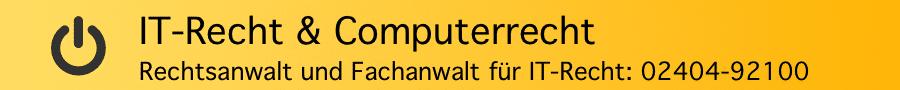 Fachanwalt für IT-Recht Jens Ferner in Alsdorf, Aachen