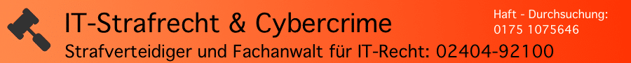Rechtsanwalt Ferner Alsdorf - Cybercrime