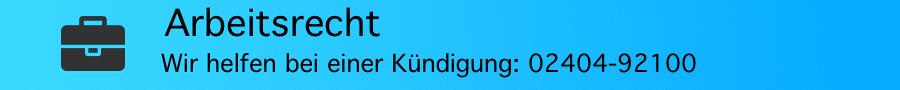 Rechtsanwalt Ferner Alsdorf - Kündigungsschutz