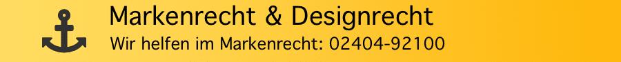 Widerspruchsverfahren im Markenrecht: Widerspruch gegen Markenanmeldung - Rechtsanwalt Ferner Alsdorf