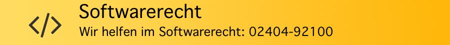 Rechtsanwalt Ferner Alsdorf - Softwarerecht