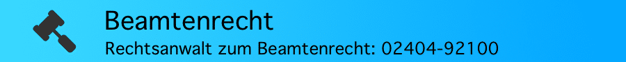 Beamter: Telefonbetrug und Kürzung der Bezüge - Rechtsanwalt Ferner Alsdorf