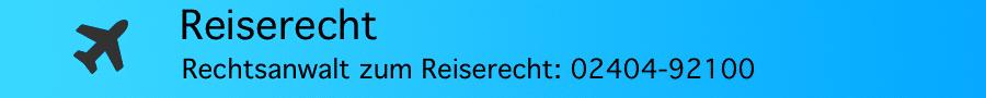 Reiserecht: Pflicht zur Benennung der eingesetzten Fluggesellschaft - Rechtsanwalt Ferner Alsdorf