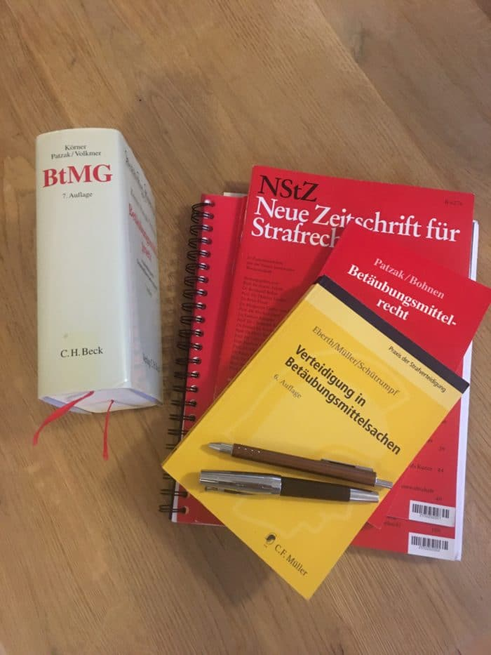 Handeltreiben mit BTM in nicht geringer Menge - Strafverteidigung im Betäubungsmittelstrafrecht in Aachen und Alsdorf