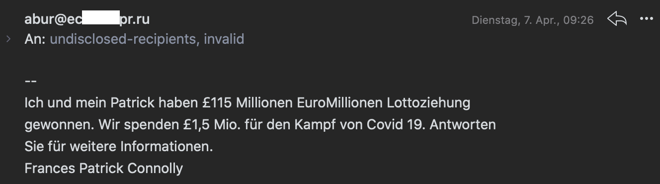 Internet-Betrug mit Corona-Soforthilfe - Ferner: Rechtsanwalt für Strafrecht, Verkehrsrecht, IT-Recht Aachen