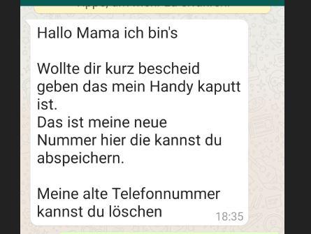 Betrug per WhatsApp - Ferner: Rechtsanwalt für Strafrecht, Verkehrsrecht, IT-Recht Aachen